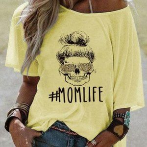 #MOMLIFE Alphabet T-shirt 03